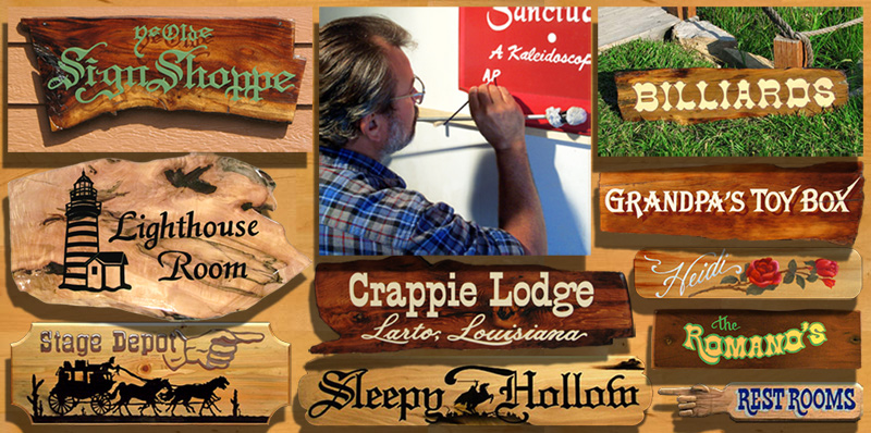 Lunamont Signs ~ Hand-Painted Wood Signs